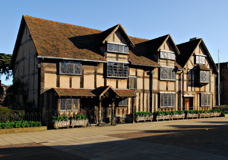 SHAKESPEARES BIRTHPLACE STRATFORD UPON AVON