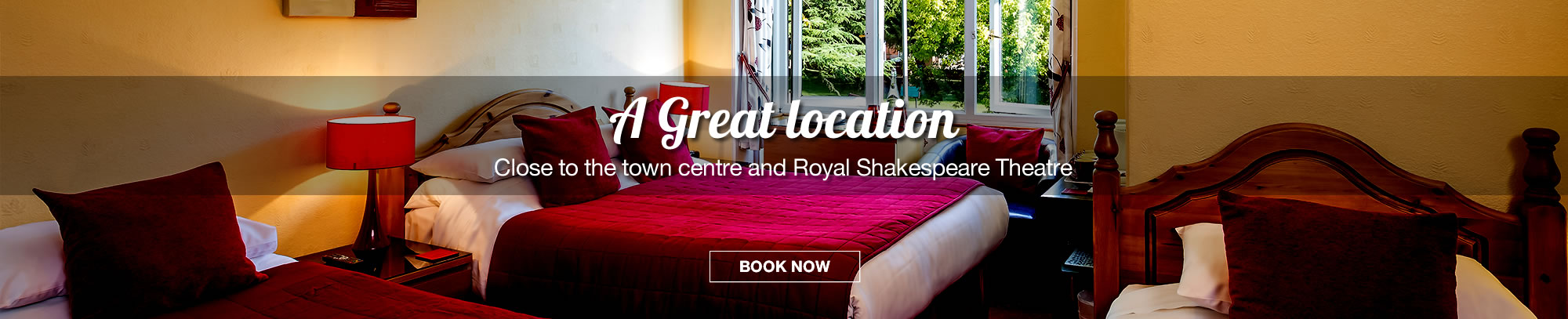 Ashgrove House - A Great location close to the town centre and Royal Shakespeare Theatre