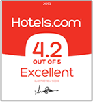 Hotels.com 4.2 out of 5 Excellent