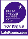 Simply The Guest Awards 2016 Top Rated LateRooms.com
